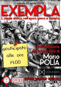 Raido: EXEMPLA. L'ideale eroico nell'epica greca e romana @ Associazione Culturale Raido