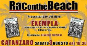 Presentazione Exempla | RAContheBeach 3 agosto 2019 Catanzaro @ RAContheBeach